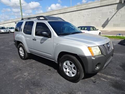 2008 Nissan Xterra for sale at DONNY MILLS AUTO SALES in Largo FL