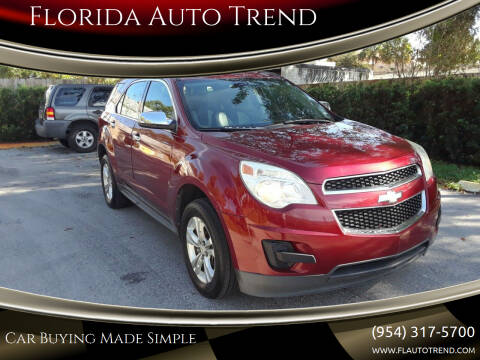 2010 Chevrolet Equinox for sale at Florida Auto Trend in Plantation FL