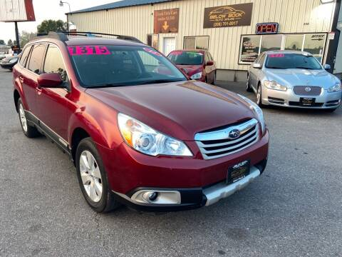 2012 Subaru Outback for sale at BELOW BOOK AUTO SALES in Idaho Falls ID