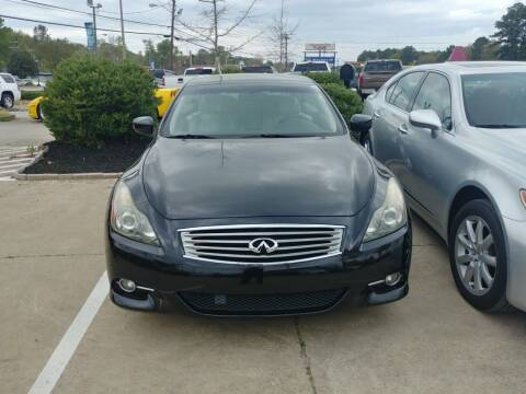 2011 Infiniti G37 Convertible for sale at A & K Auto Sales in Mauldin SC