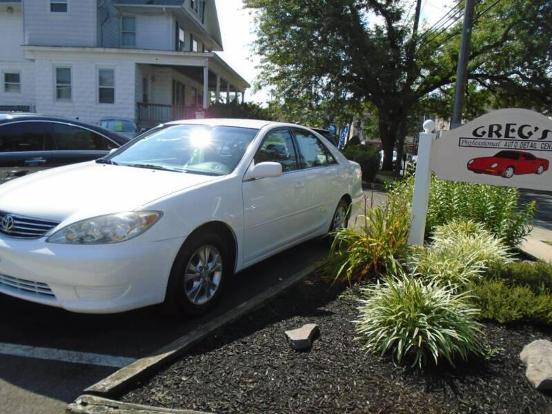 2005 Toyota Camry for sale at Greg's Auto Sales in Dunellen NJ