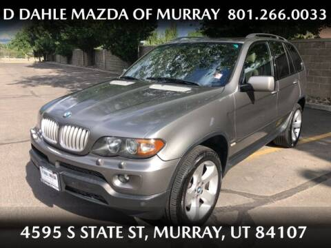 2006 BMW X5 for sale at D DAHLE MAZDA OF MURRAY in Salt Lake City UT