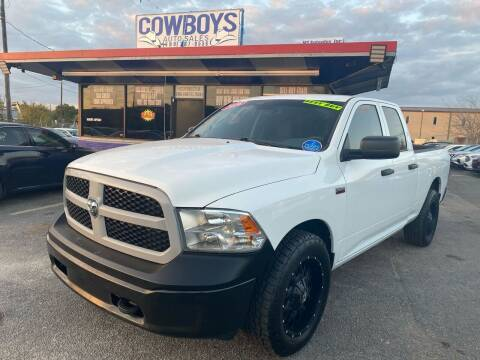 2016 RAM Ram Pickup 1500 for sale at Cow Boys Auto Sales LLC in Garland TX