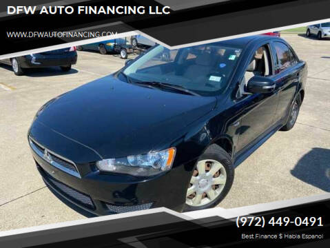 2015 Mitsubishi Lancer for sale at Bad Credit Call Fadi in Dallas TX