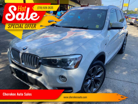 2015 BMW X3 for sale at Cherokee Auto Sales in Acworth GA