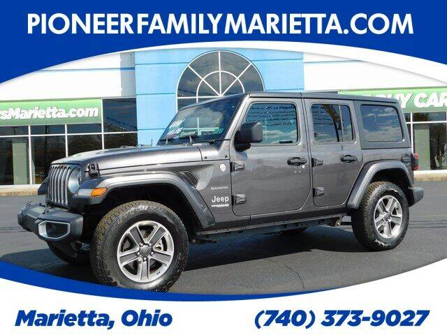 2019 Jeep Wrangler Unlimited for sale at Pioneer Family preowned autos in Williamstown WV
