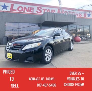 2011 Toyota Camry for sale at LONE STAR MOTORS II in Fort Worth TX