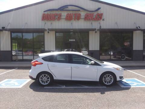 2016 Ford Focus for sale at DOUG'S AUTO SALES INC in Pleasant View TN