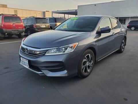 2017 Honda Accord for sale at PRICE TIME AUTO SALES in Sacramento CA