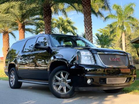 2010 GMC Yukon XL for sale at HIGH PERFORMANCE MOTORS in Hollywood FL