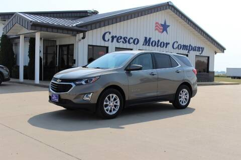 2018 Chevrolet Equinox for sale at Cresco Motor Company in Cresco IA
