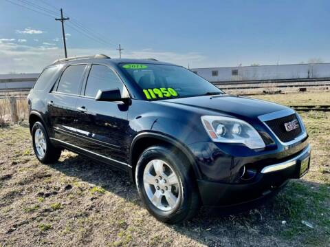 2011 GMC Acadia for sale at Island Auto Express in Grand Island NE