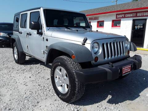 2011 Jeep Wrangler Unlimited for sale at Sarpy County Motors in Springfield NE