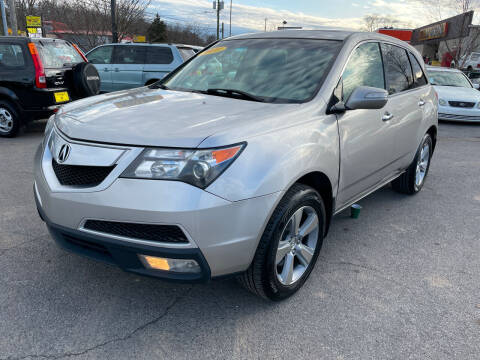 2010 Acura MDX for sale at Diana Rico LLC in Dalton GA