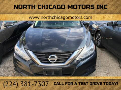 2017 Nissan Altima for sale at NORTH CHICAGO MOTORS INC in North Chicago IL