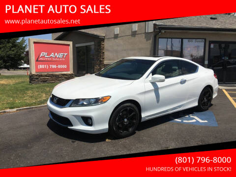 2013 Honda Accord for sale at PLANET AUTO SALES in Lindon UT