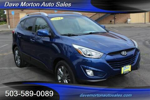2014 Hyundai Tucson for sale at Dave Morton Auto Sales in Salem OR