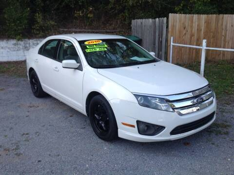 2010 Ford Fusion for sale at GIB'S AUTO SALES in Tahlequah OK