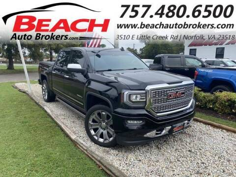2016 GMC Sierra 1500 for sale at Beach Auto Brokers in Norfolk VA