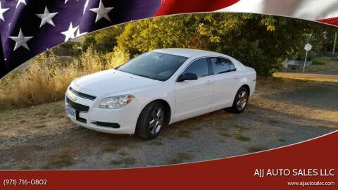 2010 Chevrolet Malibu for sale at McMinnville Auto Sales LLC in Mcminnville OR