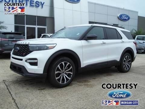 2020 Ford Explorer for sale at Courtesy Toyota & Ford in Morgan City LA