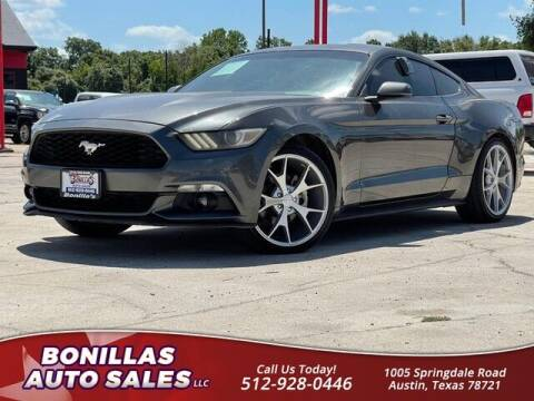 2017 Ford Mustang for sale at Bonillas Auto Sales in Austin TX