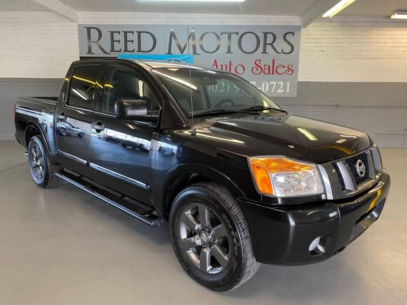 2012 Nissan Titan for sale at REED MOTORS LLC in Phoenix AZ