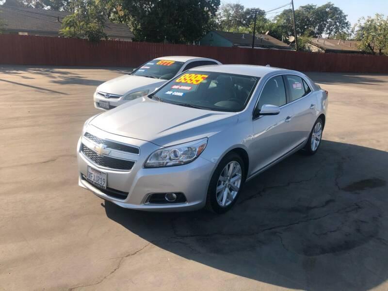 2013 Chevrolet Malibu for sale at Mega Motors Inc. in Stockton CA