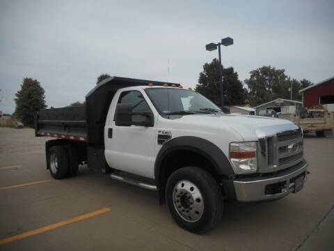 2008 Ford F550  Super Duty for sale at Boyett Sales & Service in Holton KS
