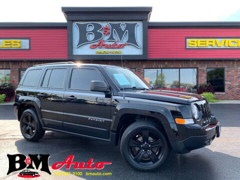 2014 Jeep Patriot for sale at B & M Auto Sales Inc. in Oak Forest IL