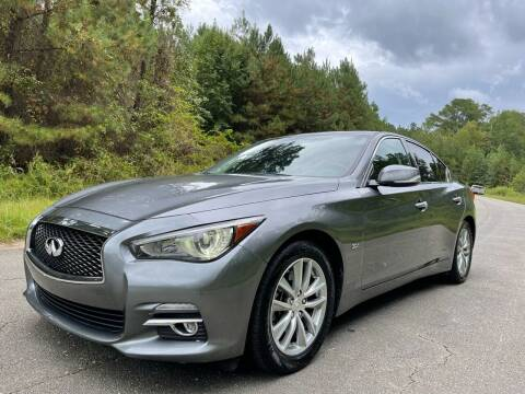 2017 Infiniti Q50 for sale at Carrera AutoHaus Inc in Clayton NC