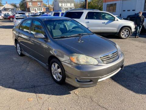 2006 Toyota Corolla for sale at ENFIELD STREET AUTO SALES in Enfield CT