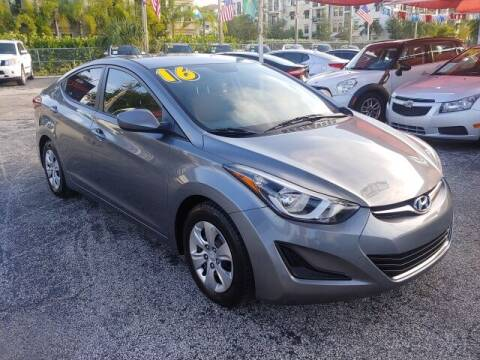 2016 Hyundai Elantra for sale at Brascar Auto Sales in Pompano Beach FL