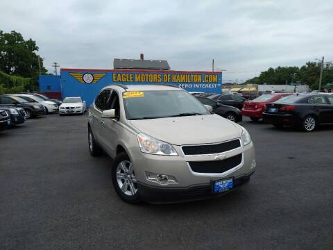 2012 Chevrolet Traverse for sale at Eagle Motors in Hamilton OH
