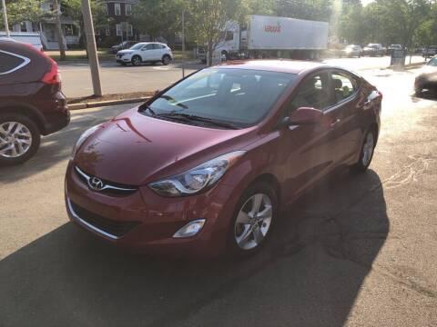 2013 Hyundai Elantra for sale at Regans Automotive Inc in Auburndale MA