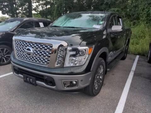 2019 Nissan Titan for sale at Strosnider Chevrolet in Hopewell VA