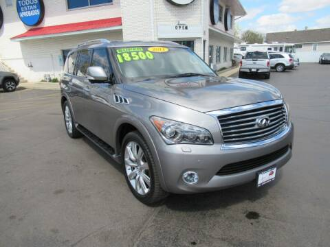 2011 Infiniti QX56 for sale at Auto Land Inc in Crest Hill IL