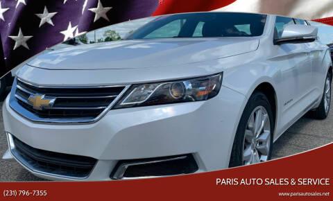 2016 Chevrolet Impala for sale at Paris Auto Sales & Service in Big Rapids MI