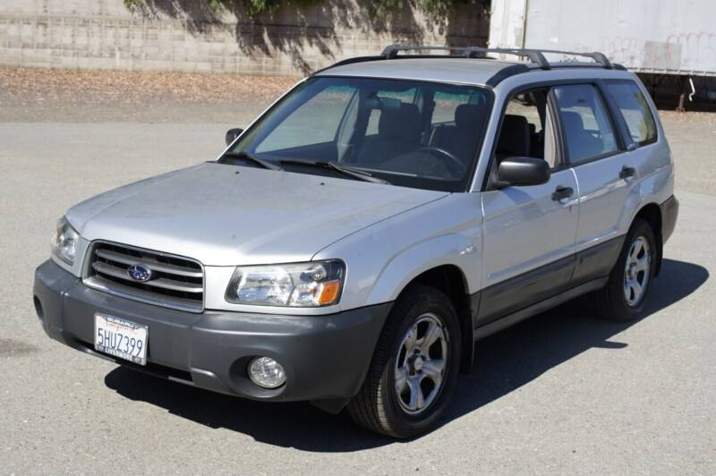 2004 Subaru Forester for sale at Sports Plus Motor Group LLC in Sunnyvale CA