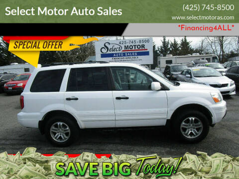 2004 Honda Pilot for sale at Select Motor Auto Sales in Lynnwood WA