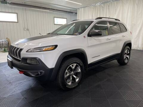 2016 Jeep Cherokee for sale at Monster Motors in Michigan Center MI