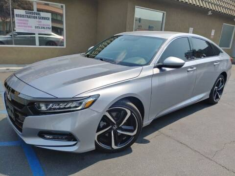 2020 Honda Accord for sale at Ournextcar/Ramirez Auto Sales in Downey CA