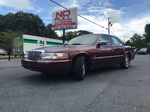 2004 Mercury Grand Marquis for sale at No Full Coverage Auto Sales in Austell GA