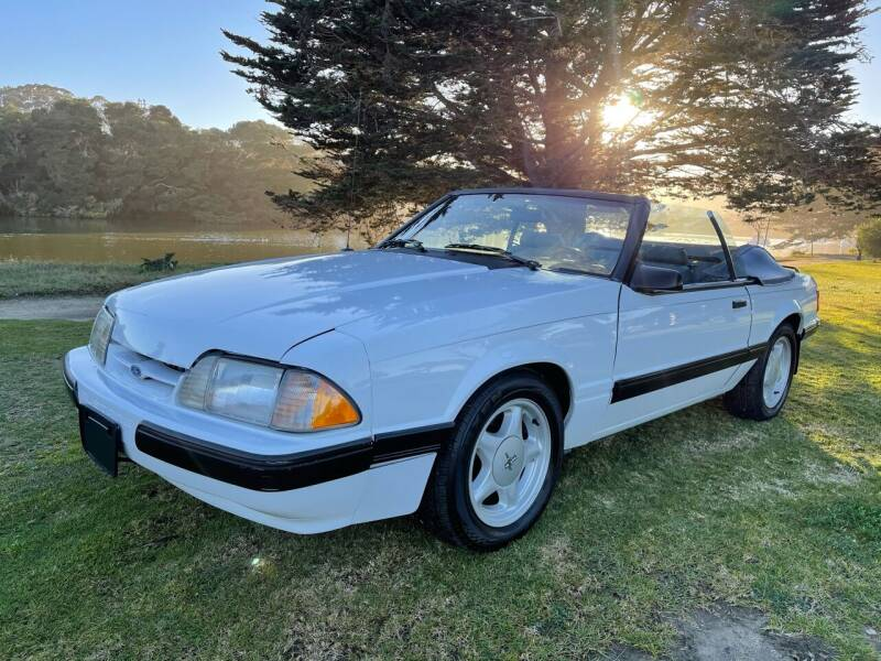 1987 Ford Mustang for sale at Dodi Auto Sales in Monterey CA