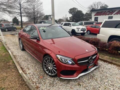 2016 Mercedes-Benz C-Class for sale at Beach Auto Brokers in Norfolk VA