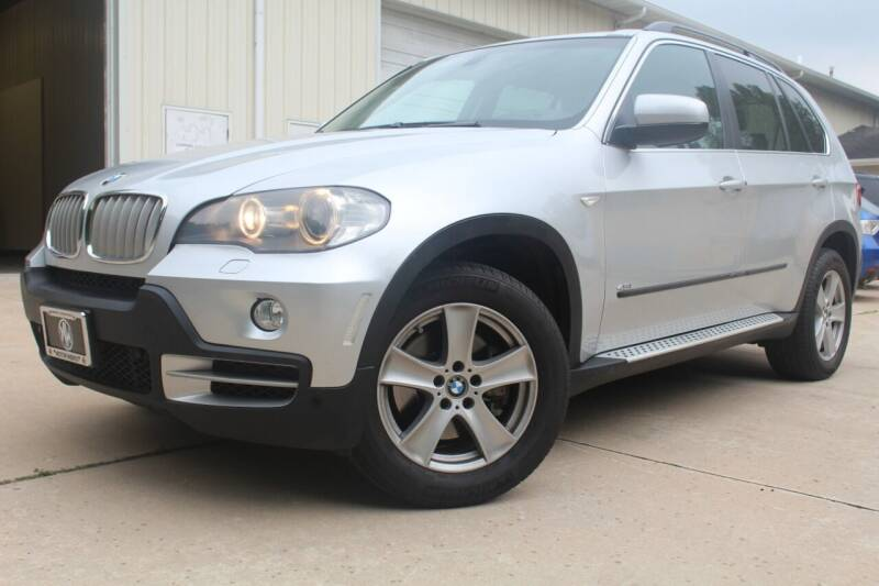 2008 BMW X5 for sale at CHIPPERS LUXURY AUTO, INC in Shorewood IL