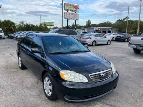 2007 Toyota Corolla for sale at Mars auto trade llc in Kissimmee FL
