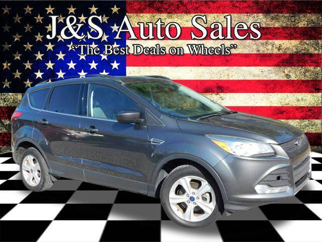 2016 Ford Escape for sale at J & S Auto Sales in Clarksville TN