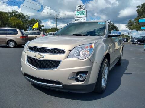 2010 Chevrolet Equinox for sale at BAYSIDE AUTOMALL in Lakeland FL