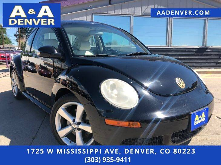 2008 Volkswagen New Beetle for sale at A & A AUTO LLC in Denver CO